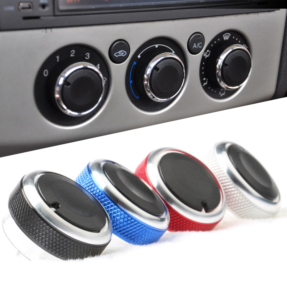 3 pcs/set knob AC Knob For Ford Focus 2 MK2 Focus 3 MK3 Sedan Hatchback Mondeo car
