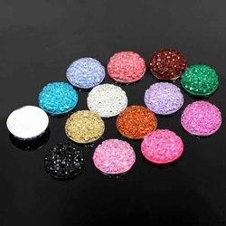Yumuz 12mm round druzy drusy resin cabochon for diy jewelry making fashion high quality cabochon beads.jpg 250x250