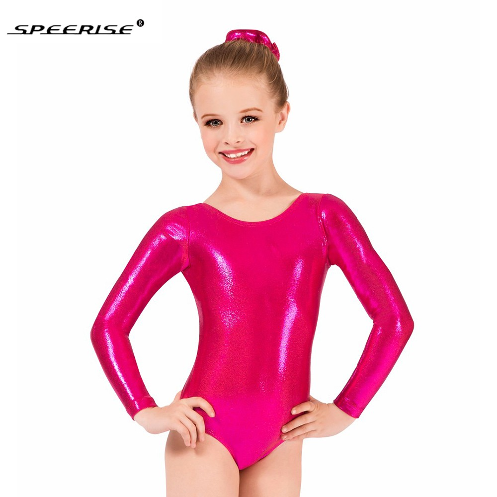 hotsale-font-b-ballet-b-font-skate-leotards-for-girls-metallic-gymnastics-unitards-long-sleeve-gold-leotard-spandex-costume-kids-dance-wear
