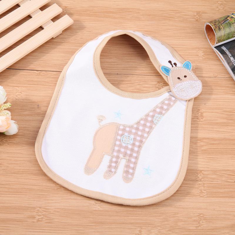 Baby Infant Bib Slobber Cartoon Pattern Waterproof Printing Feeding Saliva Towel Infant Burp Cloths Baby Feeding Products