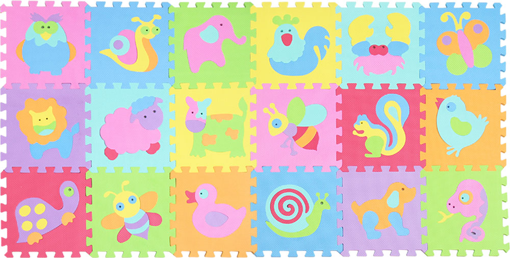 HTB19G5MlSMmBKNjSZTEq6ysKpXay EVA foam puzzlen/baby play mat foam play Puzzle mat / 18pcs/36pcs lot Interlocking Exercise TilesEach 30cmX30cm