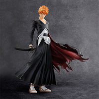 Anime Bleach Kurosaki Ichigo PVC Action Figure Collectible Model Toys Doll 22CM