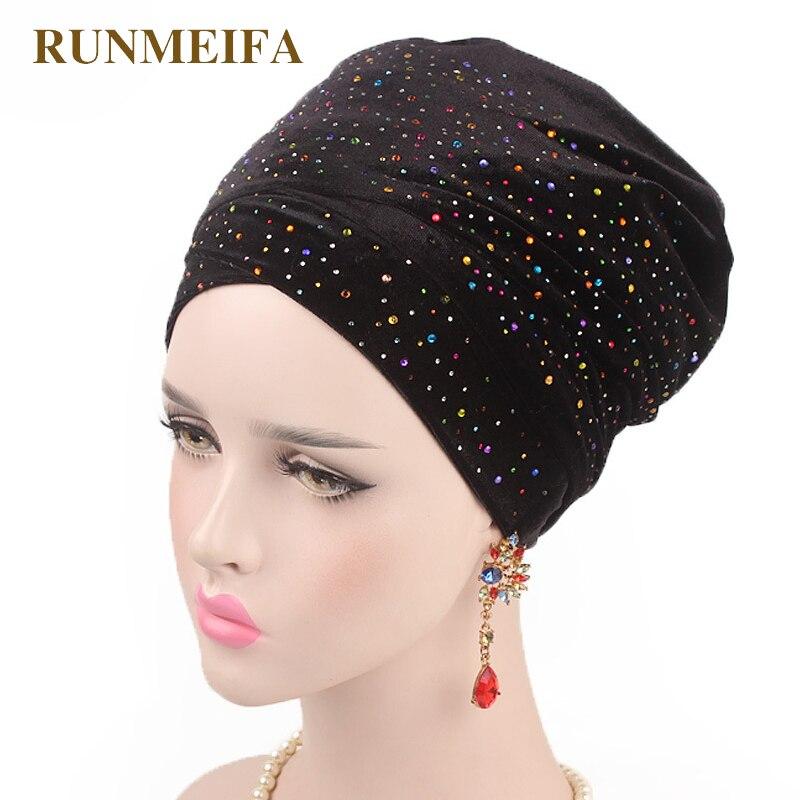 design-incruste-strass-mouslim-skullies-bonnets-solide-couvre-chef-casquette-pour-femmes-marque-de-luxe-foulard-tete-africaine-wrap-chapeau-cadeaux