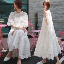 Осеннее кружевное платье Специальное женское длинное платье F78