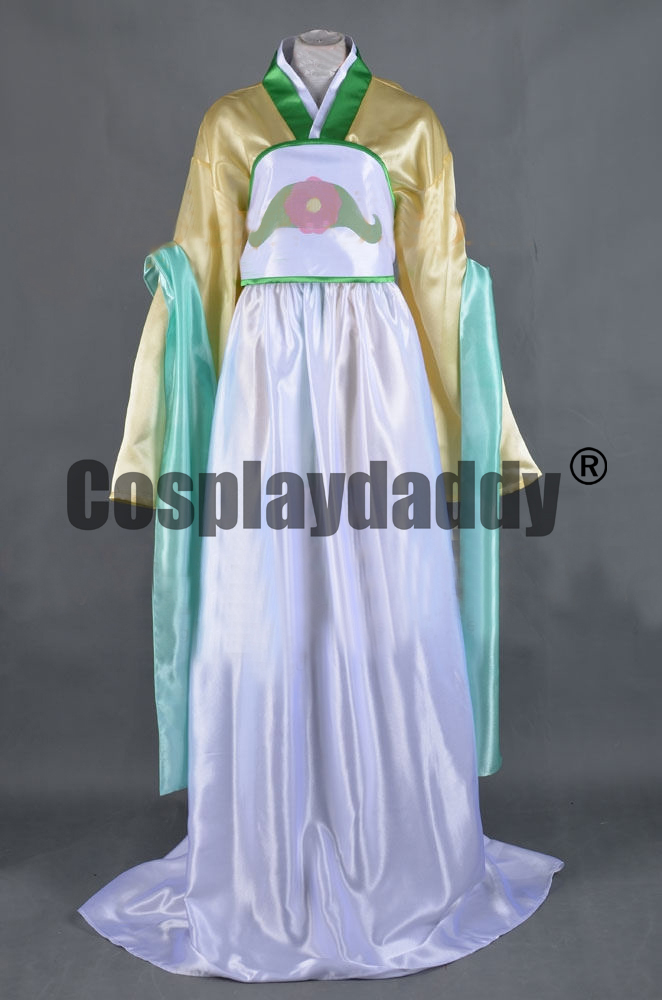 Avatar: The Last Airbender Blind Bandit Toph Beifong Dress Cosplay Costume F006