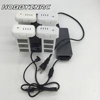 UTOYSLAND Battery Parallel Charging Dock Box Hub 3 In 1 Charger Adapter For DJI Phantom 3