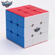 3x3x3 Cyclone Boys Magic Cube Puzzle Cubes Speed Cubo Square Puzzle Rainbow Gifts Educational Toys for Children 22314