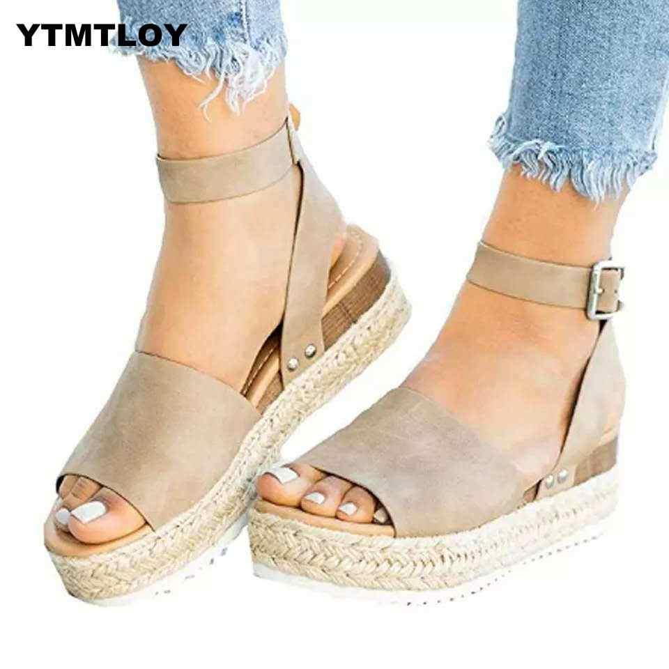חם סנדלי נשים טריזי נעלי משאבות עקבים גבוהים סנדלי קיץ כישלון להעיף Chaussures Femme פלטפורמת סנדלי Sandalia Feminina