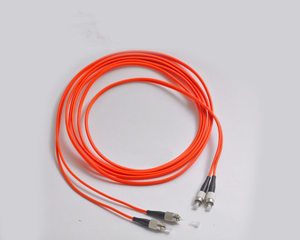 3M multimode Optical Fiber Cable FC/UPC-FC/UPC multimode fiber cable 62.5/125 double core
