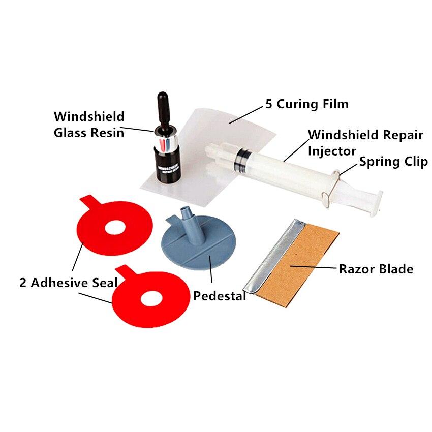 PDR Voiture Pare-Brise Kit De Réparation outils Auto Verre Pare-Brise De Réparation ensemble Porte Poignée De Protection les fenêtres porte pour Voiture Dent réparation