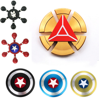 Avengers Hand Spinner Fidget Spinner Stress Cube Hand Spinners Focus And ADHD EDC Anti Stress Toys Fashion Tri -spinners