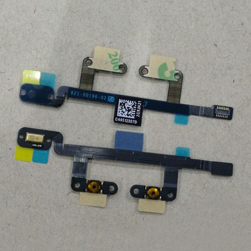 A1538 A1550 iPad Mini 4 Volume Button Power Button Flex Cable Ribbon MIC