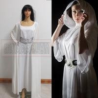 Star Wars Cosplay Hooded Dress Princess Leia Cosplay Costomes