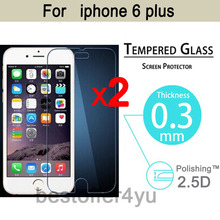 2pcs lot Explosion proof Anti Shatter Premium Tempered Glass Screen Protector Guard film For Apple iphone