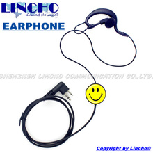 walkie talkie smile PTT with mic earpiece earphone for GP88 CP88 CP100 radio on hotel restaurant