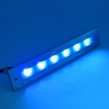 In Acciaio Inox 316 DC24V 18 W IP68 Impermeabile Cambiamento di Colore del LED Luce Fontana Subacquea Mostra Discoteca Del Partito Luci Stagno 8 pz/lpt