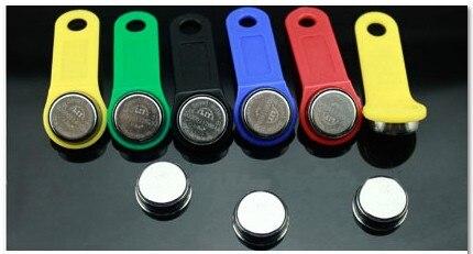 Il trasporto Libero 100 pz Riscrivibile RW1990 f5 RFID Tag Può modificare il Codice Può Copiare RW1990 Carta Tocco Chiave di Memoria Compatibile DS1990-in Porta badge da Sicurezza e protezione su  Gruppo 1