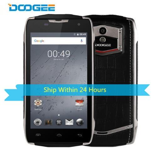 Original DOOGEE T5 4G LTE 4500mah IP67 Waterproof Smartphone 5.0