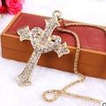 Cross pendants necklaces/cruz/jesus piece wholesale/new 2015 collar/colar collier femme/bisuteria/collar/neckless women/neclace