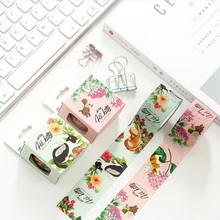 3cm*10m Flowers elf cat animal washi tape DIY decorative scrapbooking planner masking tape adhesive tape kawaii stationery