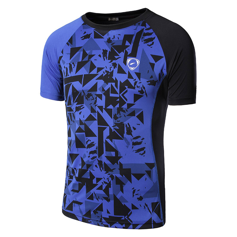 Sportrendy Hombres Casual Fitness manga corta camisetas Camisetas - Ropa de hombre