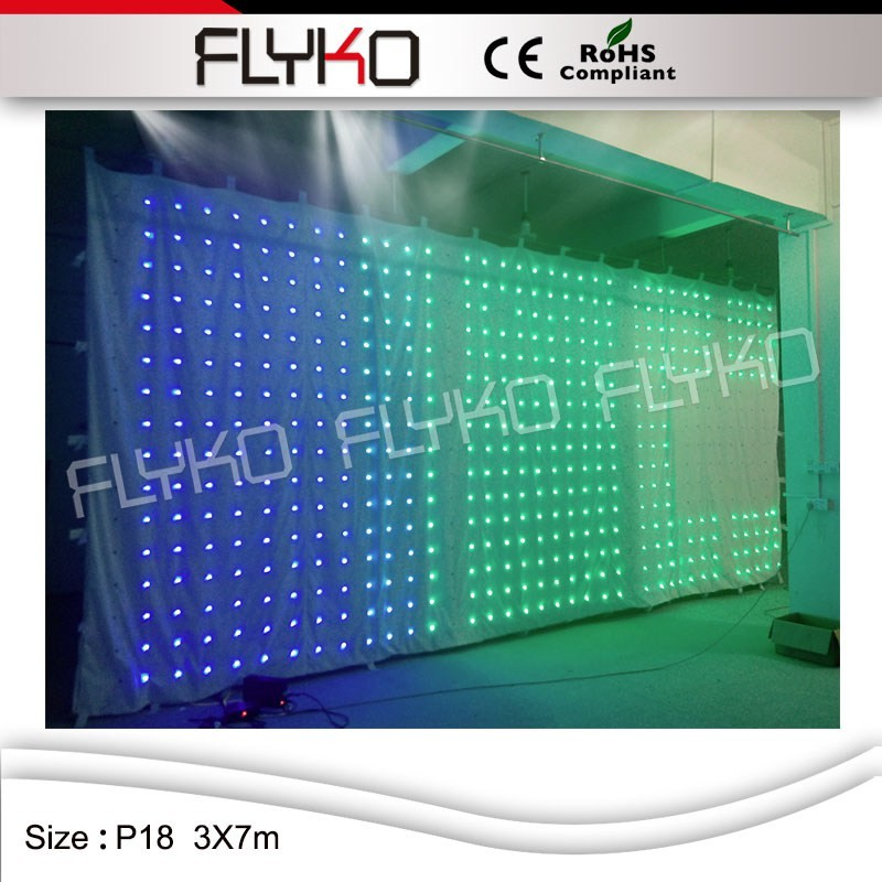 LED video curtain1