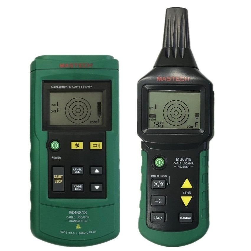 MASTECH MS6818 advanced wire tester tracker multi function Cable detector 12 400V Pipe Locator Meter pressure