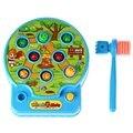 Lindo Bebé Whac-a-mole Mole Mole de La Música Eléctrica Juego de Hámster Juego de Bolsillo Encantador De Plástico Electrónico niños Juego de Juguetes