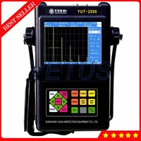 Portable Digital Ultrasonic Flaw Detector Defectoscope with changeable squared Ultrasonic pulse four impedance matching function