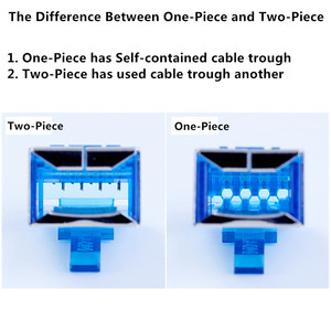 """Image 3 - Cat6 RJ45 Connector 8P8C 6U"""" Gold Plated Modular Ethernet Cable Head Crimp Network RJ 45 Plug For UTP FTP SFTP 1.0mm Wire"""