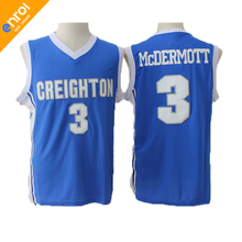 b2446edd2ba YOYLAP Mens Creighton University Bluejays Doug McDermott Jerseys 3  Throwback Knitted