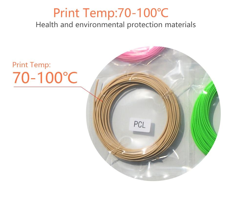 Сапалы өнім PCL 1.75mm 3d қаламдық талшық 15 - Кеңсе электроника - фото 3