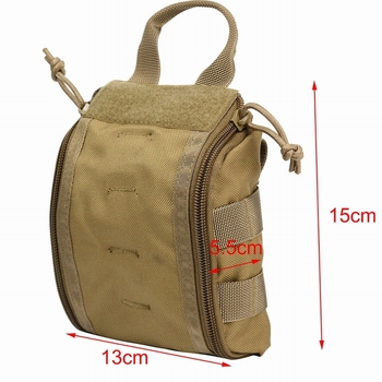 1000D Molle Tactical First Aid Kits Utility Medical Accessory Bag Outdoor Hunting Hiking Survival Modular Medic Bag Pouch 5