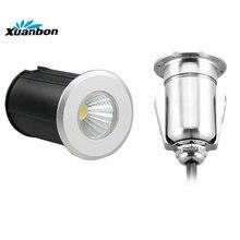 mini led outdoor ondergrondse licht armatuur 1 w 3 w 5 w waterdichte inbouw floor lamp dek verlichting terras tuin decorataion