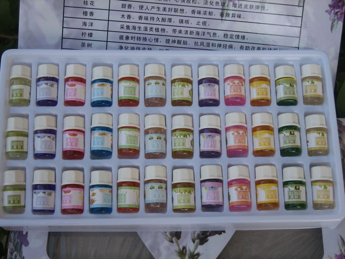 Welove water soluble Essential oil,3ml*36 bottles of colored oils,aromatherapy oils 36 flavor Body Care massage SPA Fragrances 13
