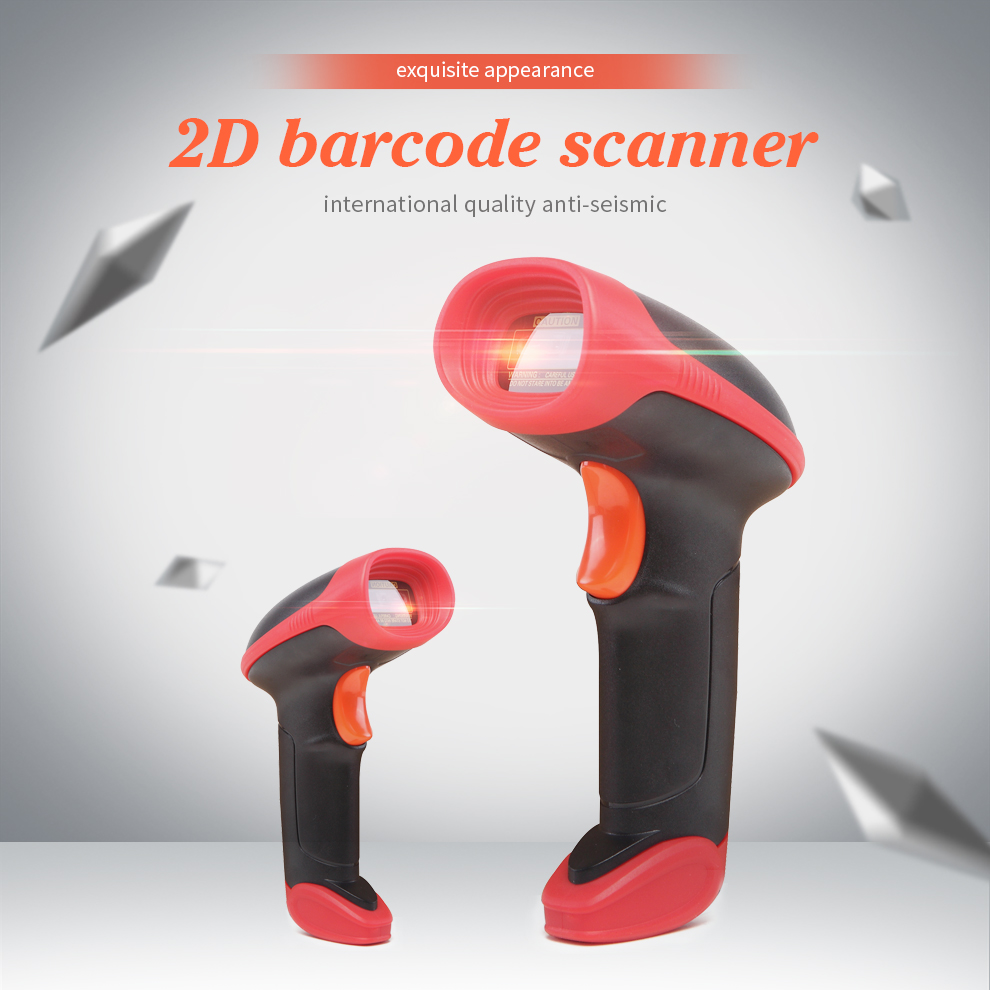 Wire 1D/2D Barcodes Scanner Handheld Document Scanner CMOS Sensor USB QR Barcode Scanner CCD Reader цены онлайн