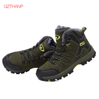 Winter Fashion Boots Men Shoes Leather Adult Casual Ankle Rubber Anti Skidding Boots Krasovki Breathable Zapatillas Deportivas