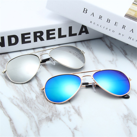 Beautyeye Fashion Kids Sunglasses Aviation Children Sun glasses Pilot Baby Sunglasses 100%UV Protection Oculos De Sol UV400 Islamabad