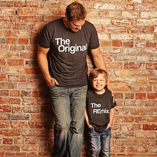 Father Son Boys Kids T Shirts Family Matching Outfits