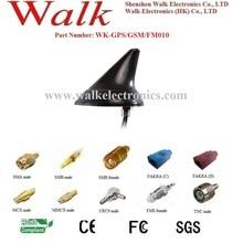 shark fin GPS GSM FM AM combo antenna, combination antenna, shark fin car antenna, screw mount, waterproof IP67
