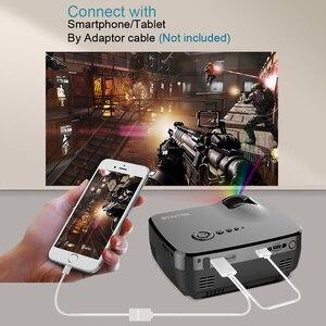 Image 3 - BYINTEK GP70 נייד מיני LED מקרן, קולנוע וידאו דיגיטלי HD קולנוע ביתי מקרן Proyector