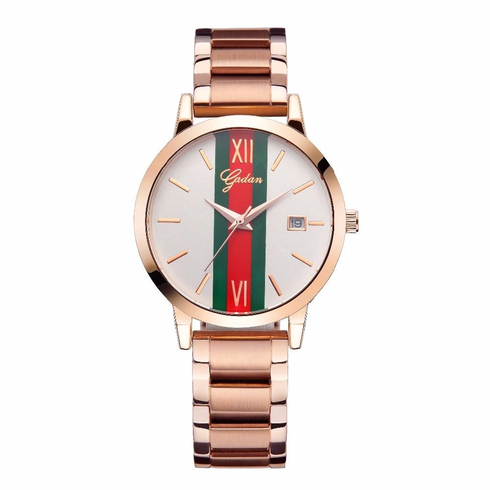 2018 яданьский люксовый бренд Relogio Feminino часы женские часы из нержавеющей стали женские модные повседневные кварцевые часы женские часы