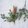 Vintage weihnachten künstliche blumen wandbehang kranz dekoration grün ananas kiefer kegel strömten anlage Ivy Reben Wohnkultur