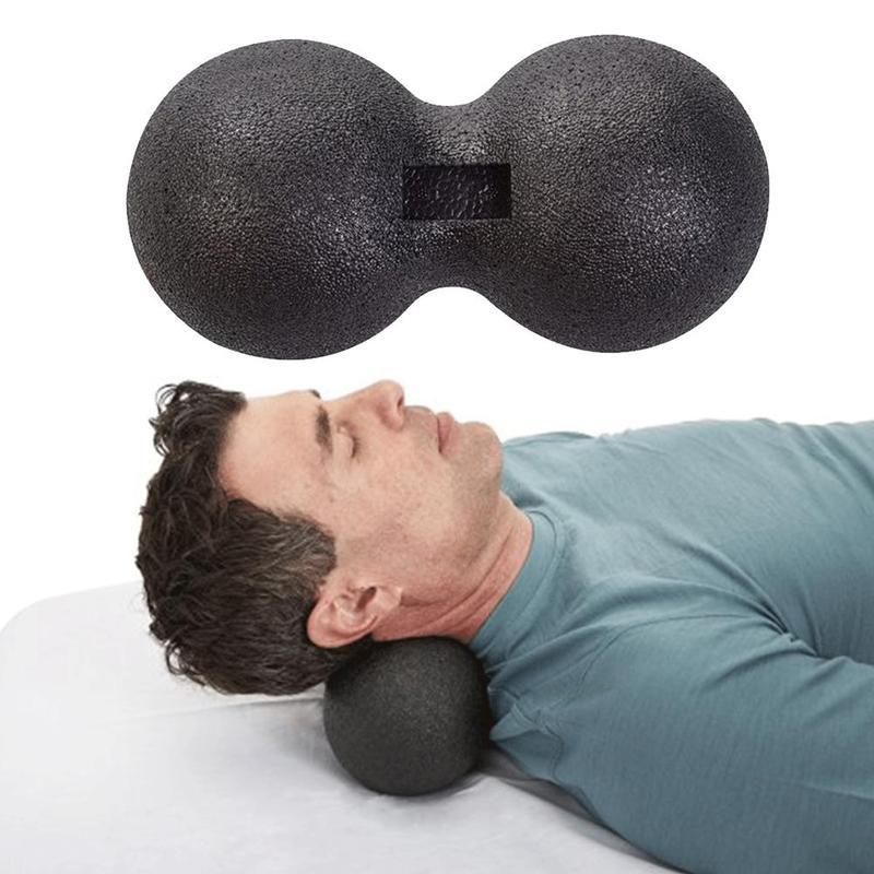 Peanut Massage Exercise Spiky Balls Sensory Therapy Balance Yoga  Relax Fitness
