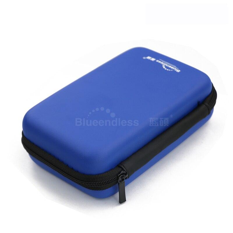 Blueenless 2018 2.5' External Storage Bag HDD Hard Case Bag Multifunctional Hdd Case Earphone Bag Carry Hard Disk Power Bank