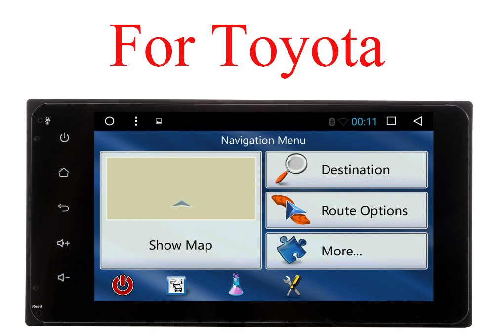 все цены на Youmecity Car Radio Stereo DVD Player for Toyota Avalon AVanza Celica Granvia Hiace Kluger Paseo Previa Prius Sienna Solara Wish