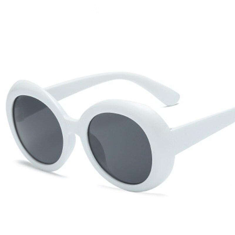 NIRVANA Kurt Cobain Ronde ovale zonnebril dames trendy 2018 hot - Kledingaccessoires