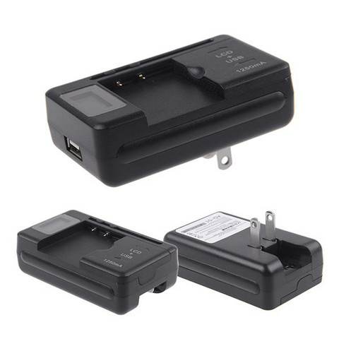 toopoot For Cell Phones LCD Indicator Screen Universal Mobile Battery Charger + USB-Port Drop Shipping Karachi