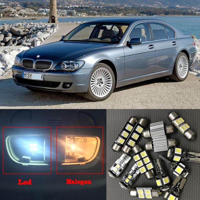 20pcs White Error Free Car LED Light Bulbs Interior Kit For 2006 2007 BMW 7 Series