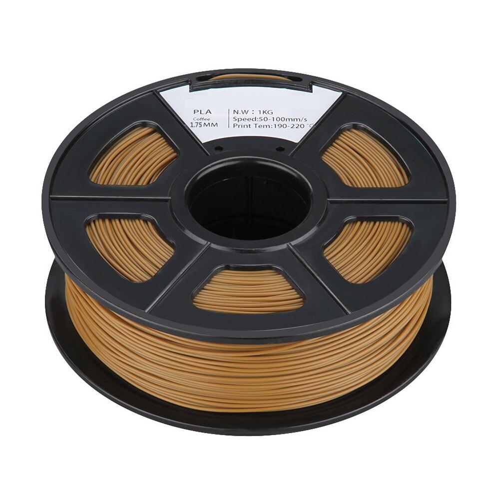 PLA 1KG 1.75mm Repraper 3D Printer Filament Bundle for Reprap Mendel CHOCOLATE цены онлайн